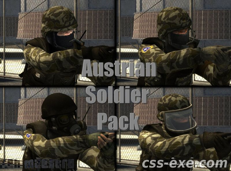TEH MAESTRO'S AUSTRIAN SOLDIER PLAYER PACK